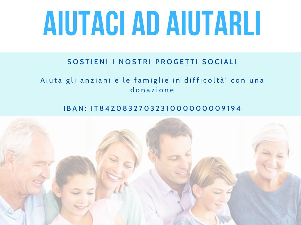 Donazioni Assistenza alla Famiglia